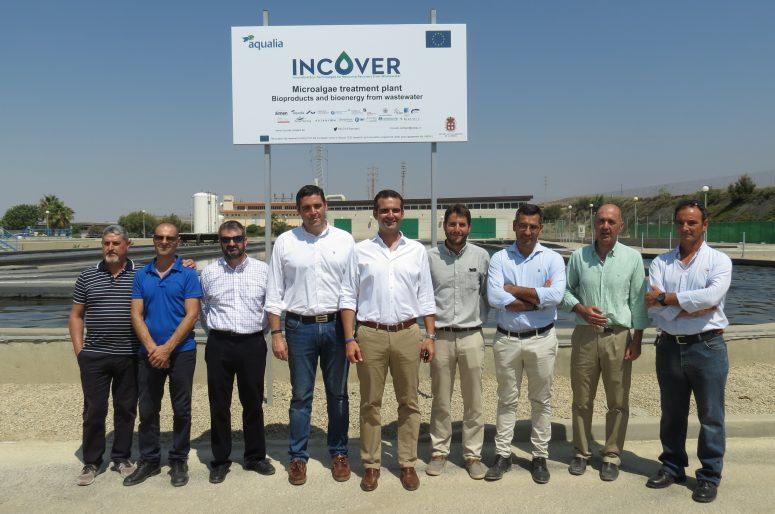 Presentación Aqualia proyecto Incover+Biosol Almería 26-07-2018