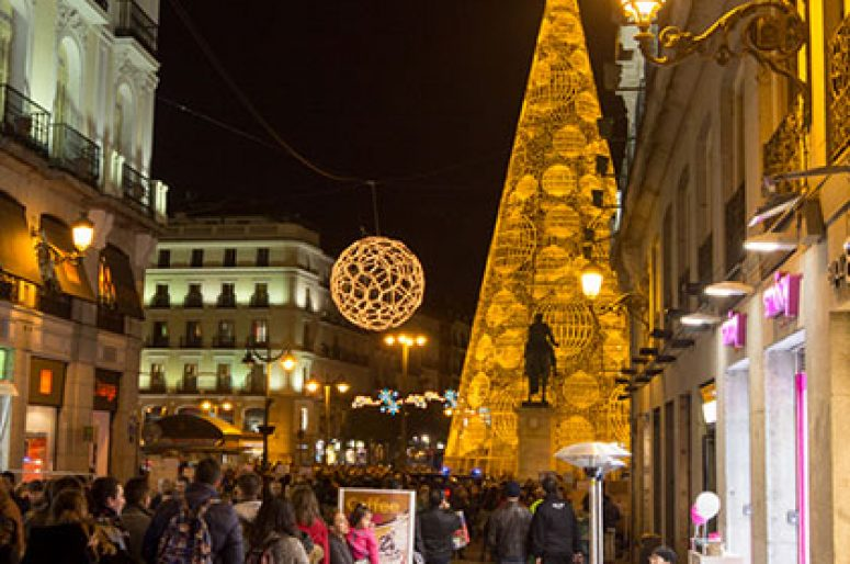 Las fiestas navideñas o la metamorfosis de la ciudad