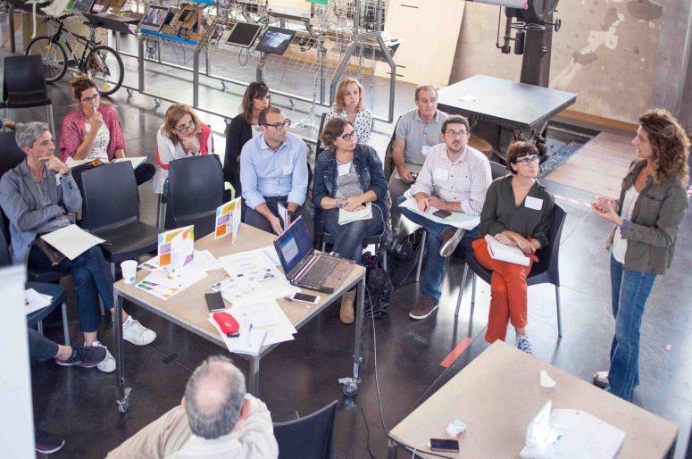 Jornadas del programa europeo URBACT celebradas en Medialab Prado, Madrid, 28 y 29 de septiembre de 2017. Fotos de Julio Albarrán